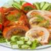 Свиной рулет с овощами