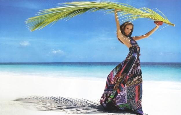 Модная одежда для пляжного отдыха
