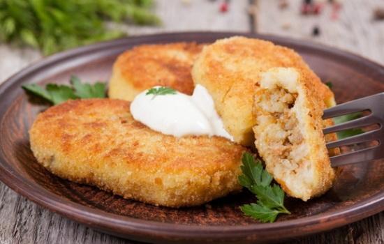 Картофельные зразы с мясом – идеальное блюдо для перекуса
