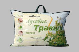 подушка из травы