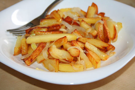 как правильно пожарить картошку
