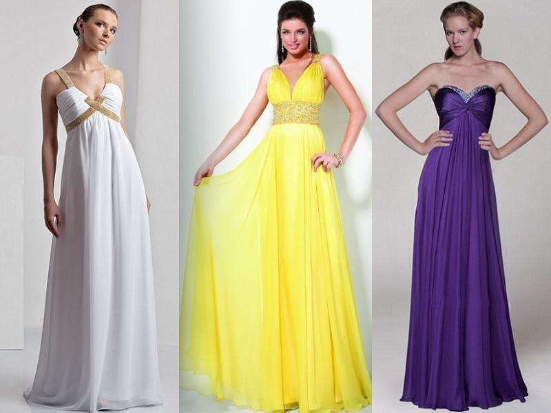 платья в греческом стиле