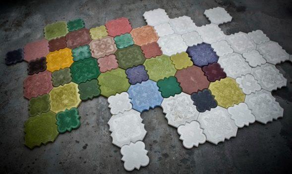 необычные напольные покрытия