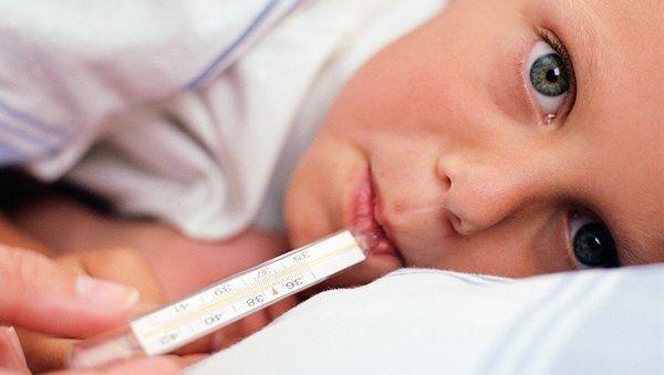 Высокая температура у ребенка. Что делать?